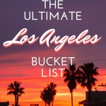 LOS ANGELES BUCKET LIST