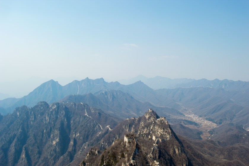 View from the top of the Great Wall of China | ColleenWelsch.com