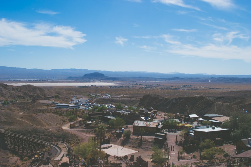 View from the lookout point of Calico Ghost Town | ColleenWelsch.com