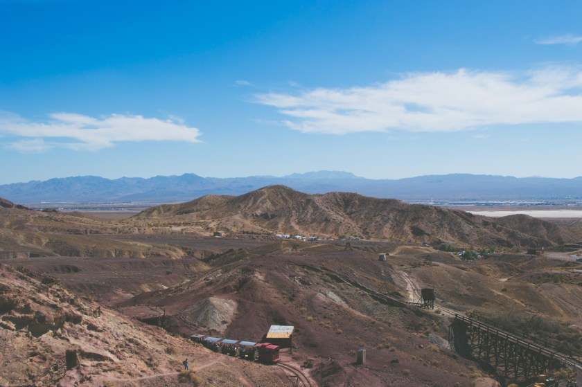 View of the Mojave Desert from Calico Ghost Town | ColleenWelsch.com