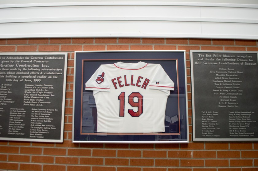 Cleveland Indians Bob Feller Hometown Museum in Van Meter, Iowa | Great American Road Trip | ColleenWelsch.com