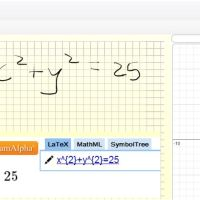 Desmos, WolframAlpha & handwriting recognition!