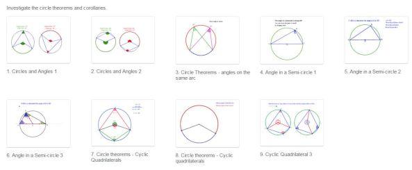 GeoGebra - Circle Theorems