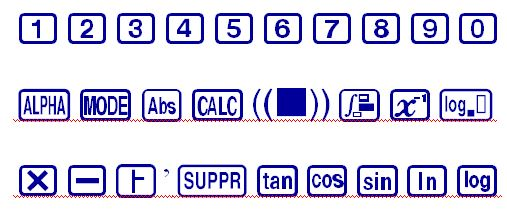ES03 Font from Casio