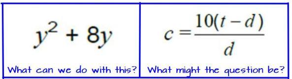 Algebra Snippets