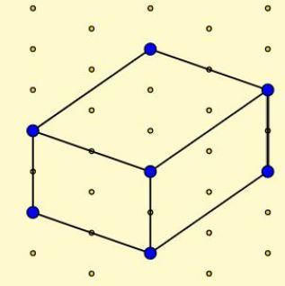 GeoGebra isometric dot paper