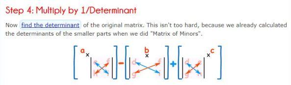 3x3 Matrices - Inverses