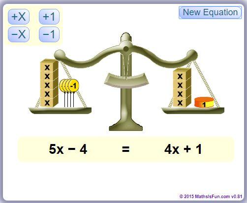 Algebra Balance
