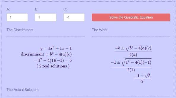 Transum Angle Thinking Maths Warehouse Quadratic