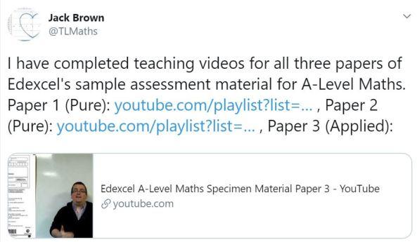 Jack Brown teaching vdeos