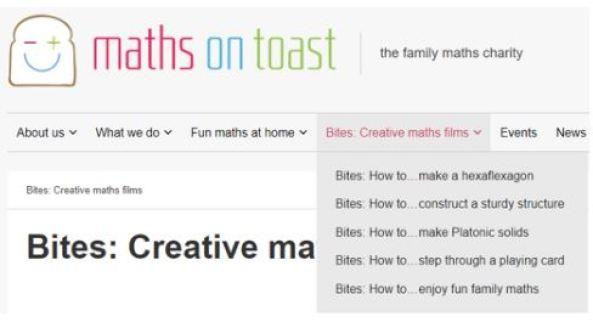Maths on Toast Bites Films