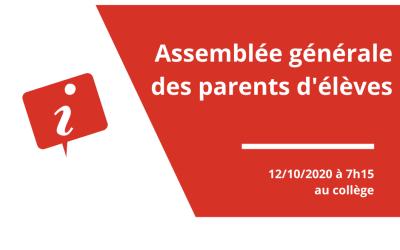 Assemblée générale des parents d'élèves