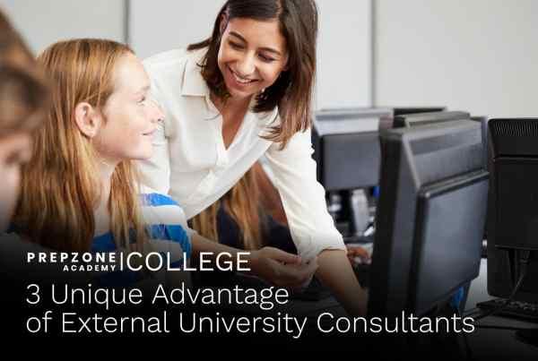 3 Unique Advantage of External University Consultants