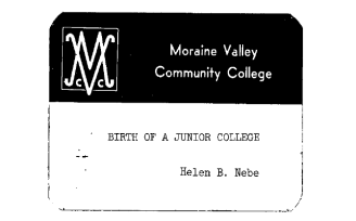Birth of a Junior College