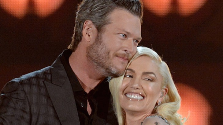 Blake Shelton Gwen Stefani married