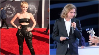 Miley Cyrus' Cute Homeless Date is Selling Their 2014 VMAs Award on eBay