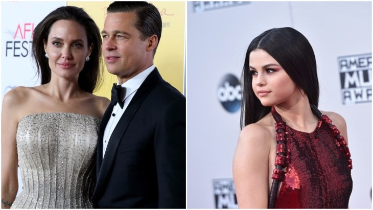 Selena Gomez linked to Brad Pitt and Angelina Jolie's divorce