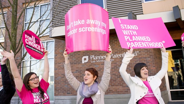 Ways to help support Planned Parenthood
