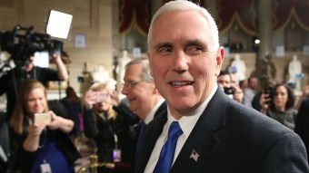 A Large Group Of Notre Dame Students Walked Out During Mike Pence's Commencement Speech