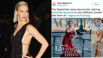 Jennifer Lawrence Is On The Cover Of Vogue & People Are Not Happy