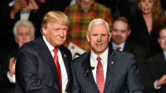 Trump Joked That Mike Pence Wants To Kill All LGBT People