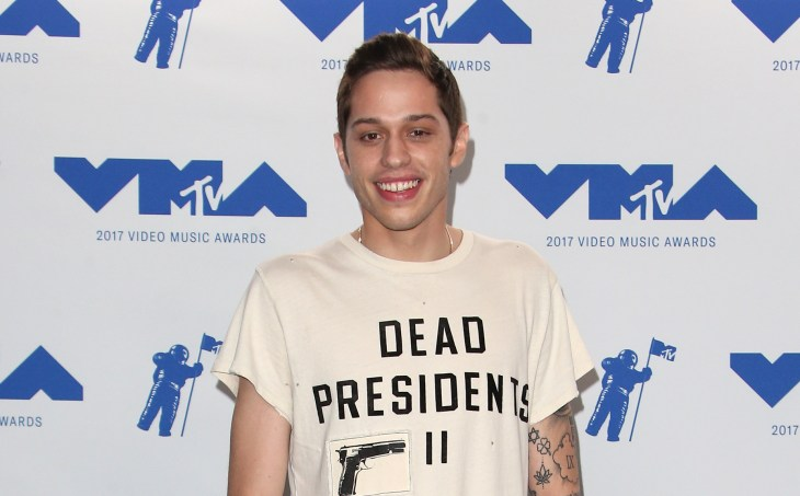 Pete Davidson at the MTV VMA's 2017 press room