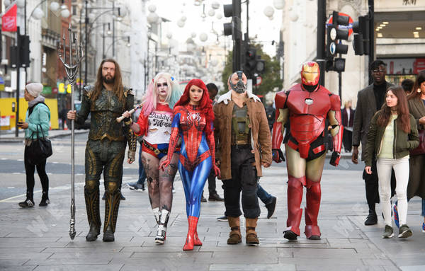 Superhero costumes are Google's Most Searched Costumes for 2018