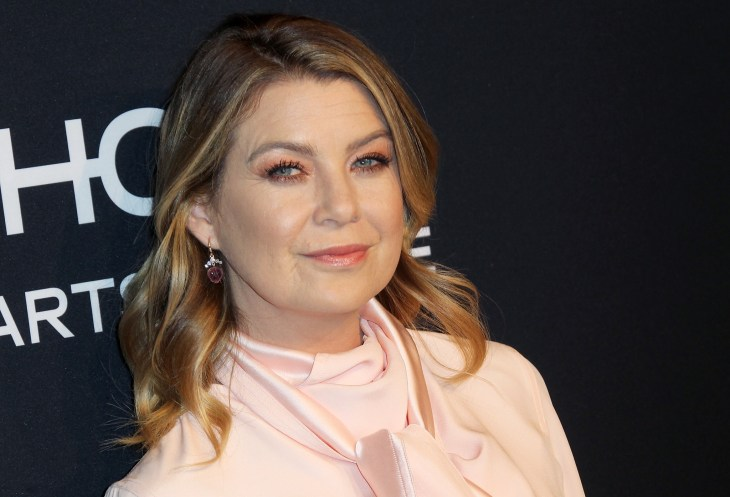 Ellen Pompeo at the ELLE magazine 24 Years of Women in Hollywood 2018