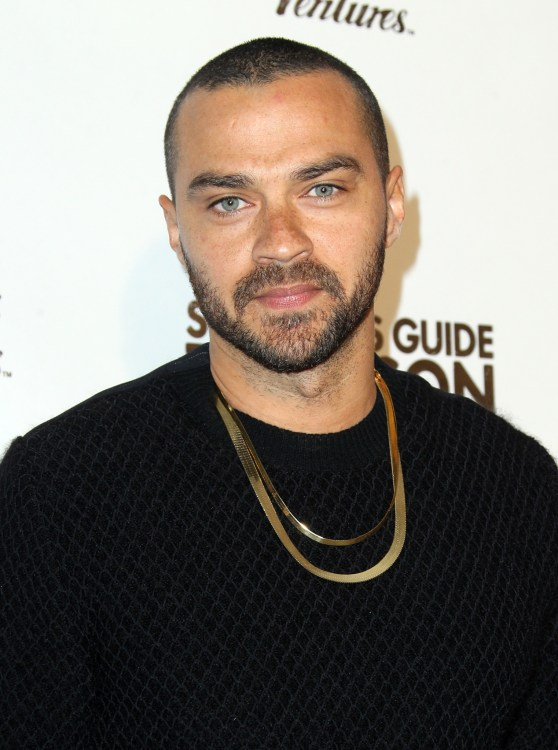 Jesse Williams at the Survivors Guide To Prison' Los Angeles Premiere held at The Landmark Theatre