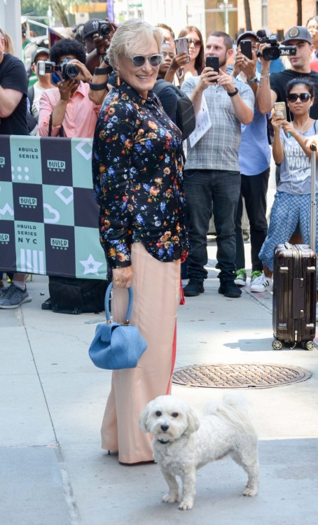 Celebrities out and about in New York Featuring: Glenn Close Where: NYC, New York, United States When: 26 Jul 2018 Credit: Patricia Schlein/WENN.com