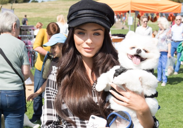 Celebrity guests attend puppy parade and fun dog show to raise awareness of the UK's cruel puppy farming trade at Featuring: Kady McDermott Where: London, United Kingdom When: 01 Sep 2018 Credit: Phil Lewis/WENN.com