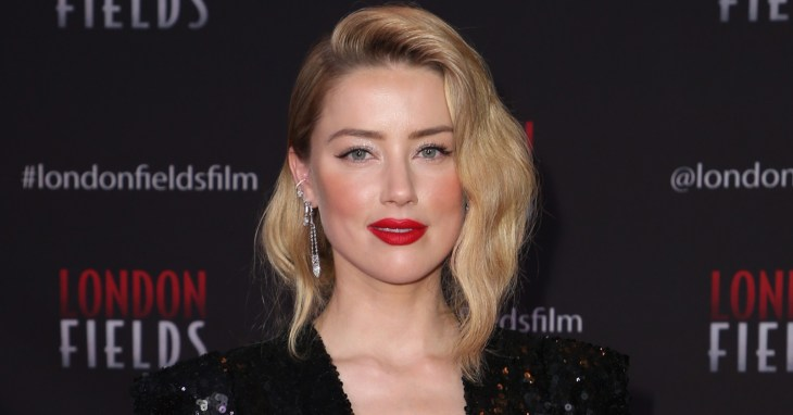 Amber Heard at the premiere of London Fields in Hollywood