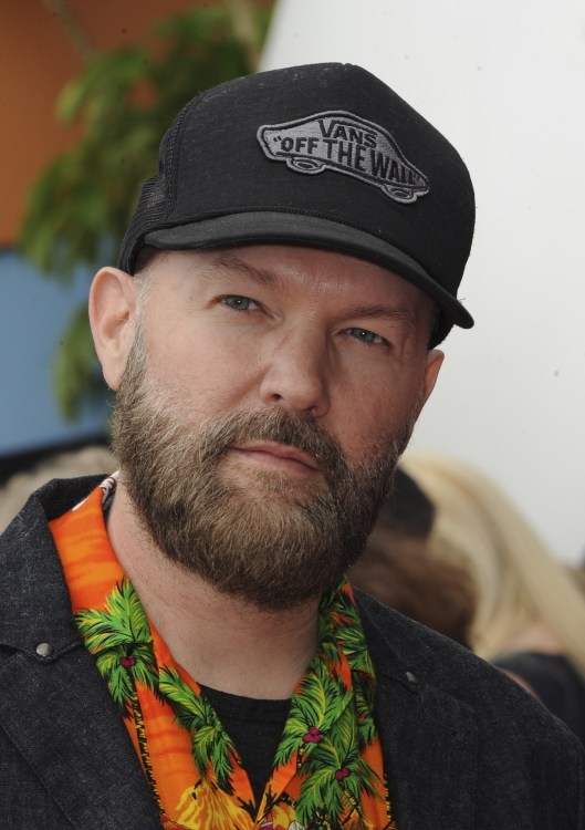 Fred Durst at the premiere of The Angry Birds Movie