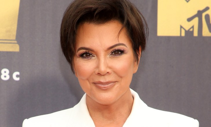 Kris Jenner at the 2018 MTV Movie and TV Awards