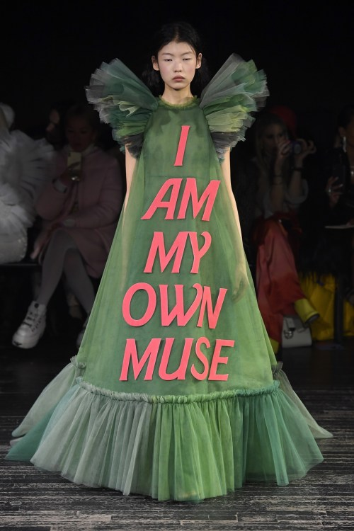 Viktor & Rolf i am my own muse Couture Dress