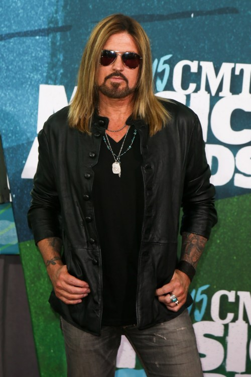 Billy Ray Cyrus arriving to CMT awards