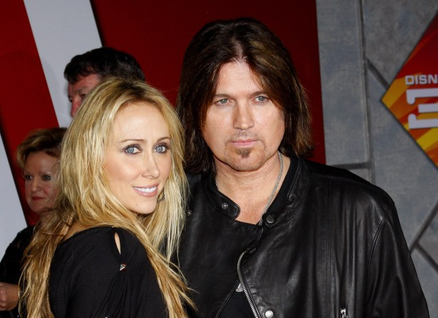 Billy Ray Cyrus and wife Tish Cyrus