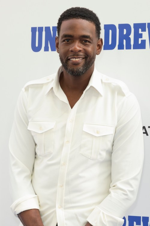 Chris Webber at the premiere of Uncle Drew