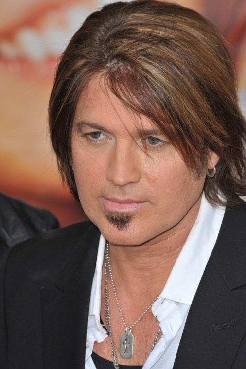Billy Ray Cyrus at 2009 primmer of Hannah Montana: The Movie