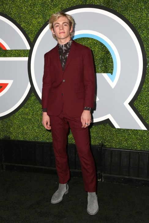 Ross Lynch at the 2017 GQ Men of the Year at the Chateau Marmont
