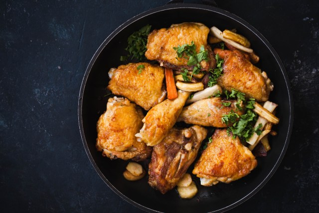 Slow Cooker Chicken Thighs With Corn