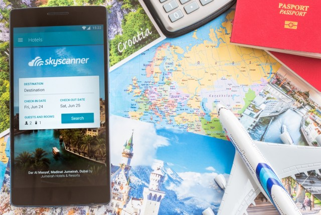 Mobile apps make traveling so much easier. Search, compare and book cheap flights on the go with the award-winning Skyscanner Flights app!