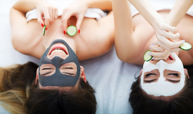 face mask with your bff