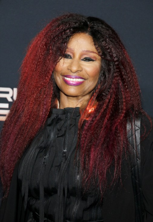 Chaka Khan at the Los Angeles premiere of 'Charlie's Angels'