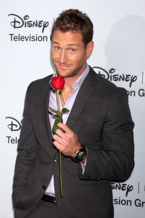 Former Bachelor star Juan Pablo Galavis at the Disney-ABC Television Group 2014 Winter Press Tour Party Arrivals at The Langham Huntington on January 17, 2014