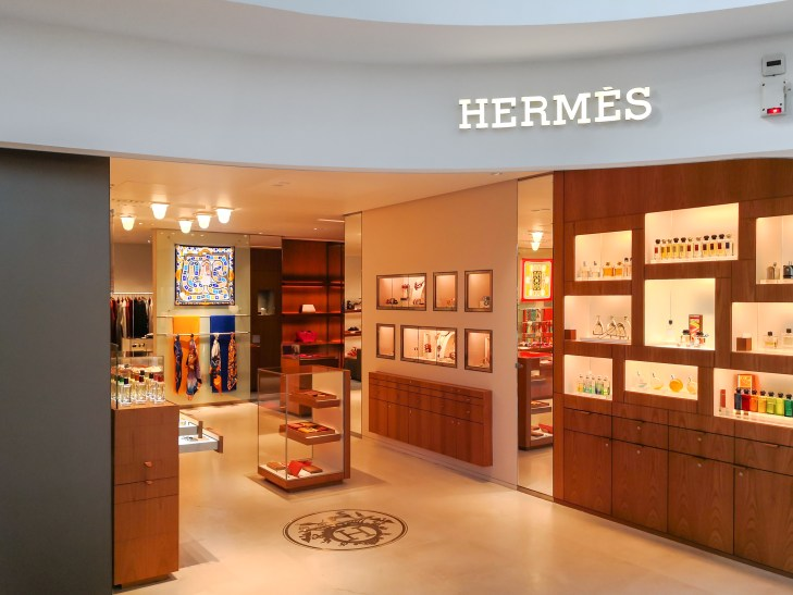 A French designer store