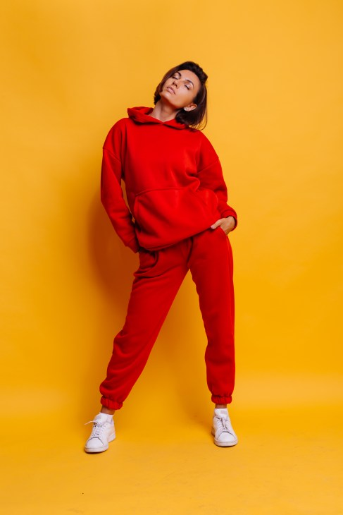 Red Sporty Co-ord