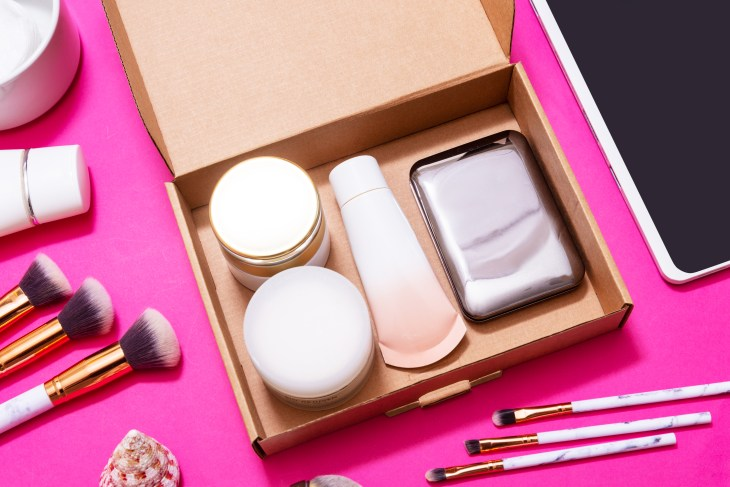 subscription box, makeup, skincare, products, monthly box