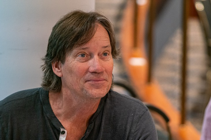 Kevin Sorbo looking past the camera