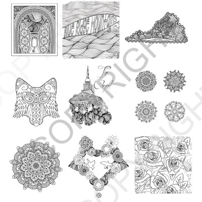 Sweet Briar College Coloring Book Preview